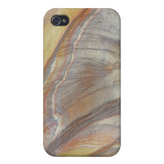 Ornamental Patterns - Wood Grain Effect Case For iPhone 4