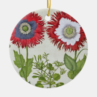 Ornamental Poppies, from the 'Hortus Eystettensis' Christmas Ornament