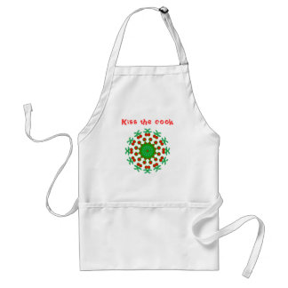 Ornamental Red and Green Products Standard Apron