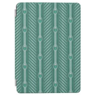 Ornamental Teal Pattern iPad Air Cover