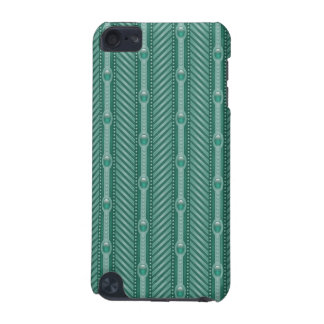 Ornamental Teal Pattern iPod Touch 5G Covers