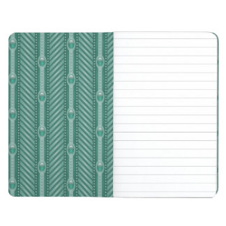 Ornamental Teal Pattern Journal