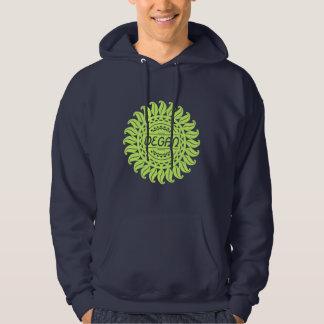 Ornamental Vegan Dark Hoodie