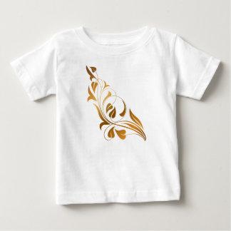 Ornamental white background t-shirt