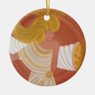 "Ornamentation ""Abundantia"" the goddess of the abun Christmas Ornament"