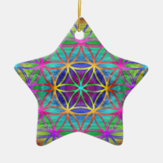 "Ornamentation ~ Healing~Energy ""Flower OF Life "" Christmas Ornament"