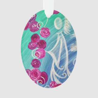 "Ornamentation ""rose angel "" ornament"