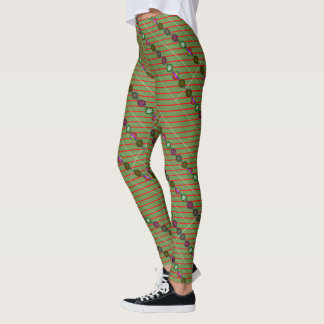 Ornaments and Lines Leggings