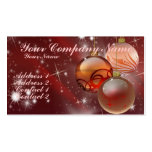 Ornaments and Stars Business Card