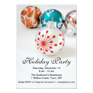 Ornaments Holiday Party Invitation