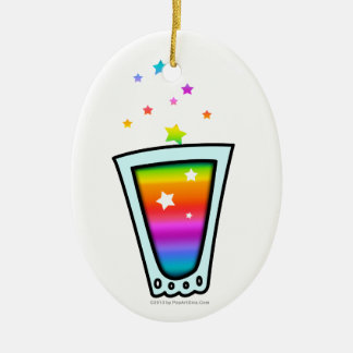 ORNAMENTS - RAINBOW SHOT GLASS