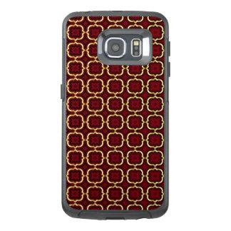 Ornate barbed quatrefoil (color adjustable) OtterBox samsung galaxy s6 edge case