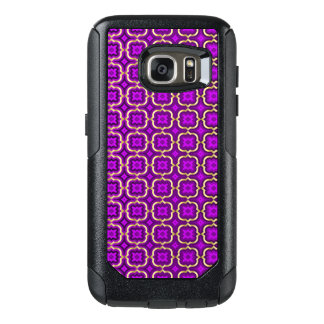 Ornate barbed quatrefoil (color adjustable) OtterBox samsung galaxy s7 case