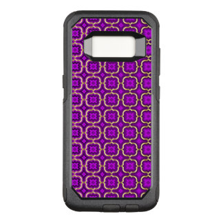 Ornate barbed quatrefoil (colour adjustable) OtterBox commuter samsung galaxy s8 case