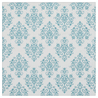 Ornate Baroque colored Damask pattern fabric