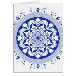 Ornate Boho Mandala Card