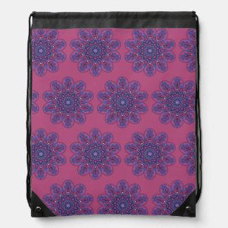 Ornate Boho Mandala Drawstring Bag