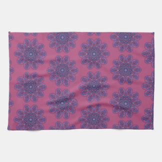 Ornate Boho Mandala Tea Towel