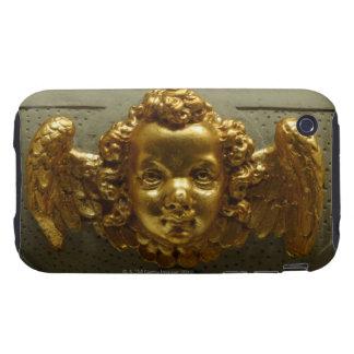 Ornate brass decoration tough iPhone 3 case