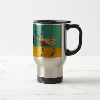 Ornate Buck Dad  Travel Mug