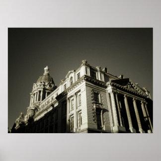 Ornate Centre Street Building All Sizes Print