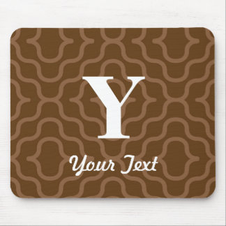 Ornate Contemporary Monogram - Letter Y Mouse Pad
