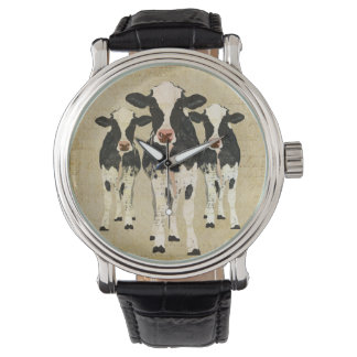 Ornate Cows Watch