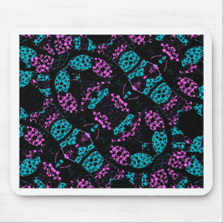Ornate Dark Pattern Mousepads