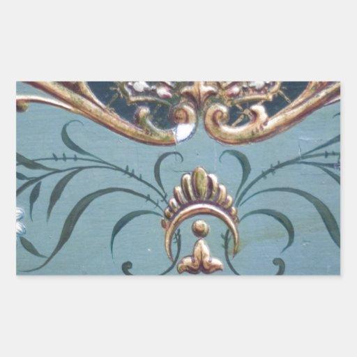 Ornate Design Sticker