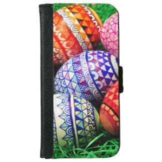 Ornate Easter Eggs iPhone 6 Wallet Case