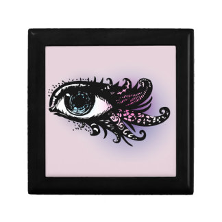 Ornate Eye of the Beholder Small Square Gift Box