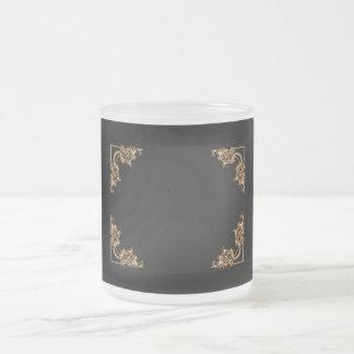 Ornate floral  swirl mugs