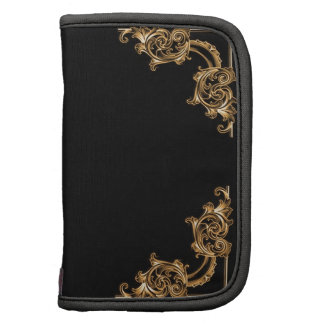 Ornate floral swirl planners