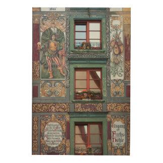 Ornate Fresco Detail, Germany Wood Wall Art