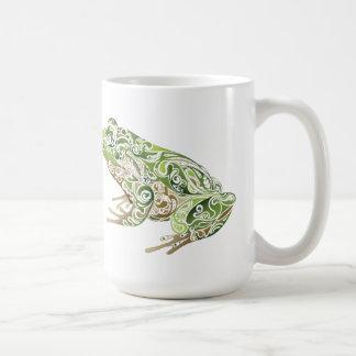 Ornate Frog Coffee Mug