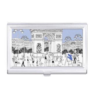 Ornate Gate Business Card Holder