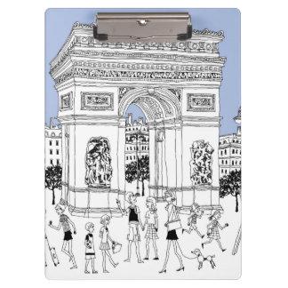 Ornate Gate Clipboard