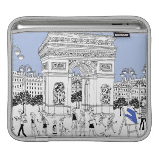 Ornate Gate iPad Sleeve
