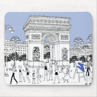 Ornate Gate Mouse Pad