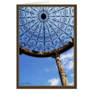 Ornate Gazebo Card