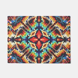Ornate Geometric Colors Doormat
