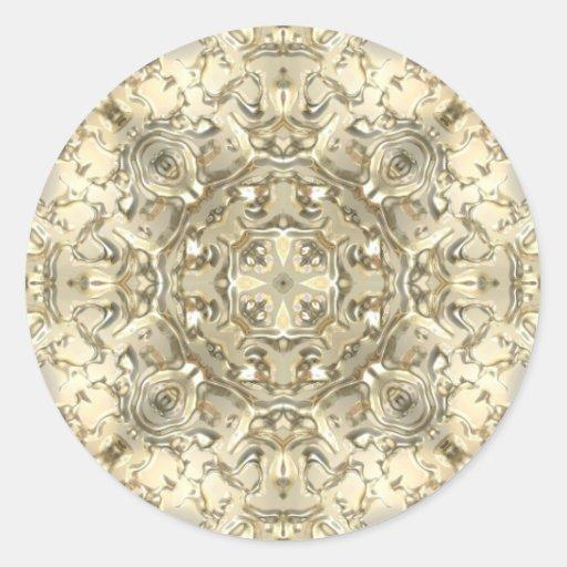 Ornate Gold & Silver Stickers