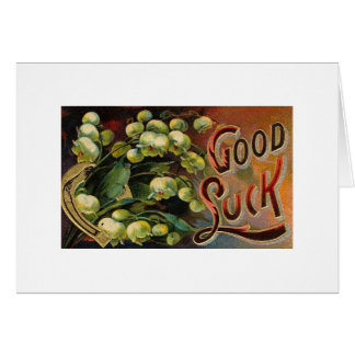 Ornate Good Luck Card