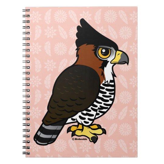 Ornate Hawk-Eagle Notebook