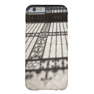 ornate iron fencing shadow on tile floor barely there iPhone 6 case