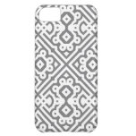 Ornate Labyrinth in Gray iPhone 5C Cases