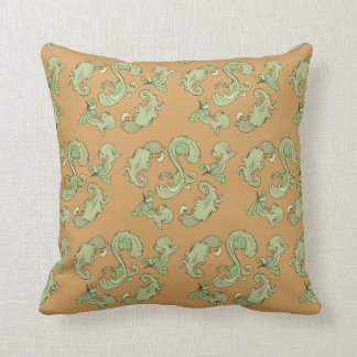 Ornate Leaf Cushion