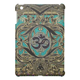 Ornate Metallic Antique Gothic Symbols Decor  Cover For The iPad Mini