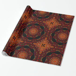 Ornate Middle Eastern Medallion 2 Wrapping Paper