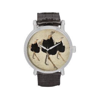 Ornate Ostriches Watch
